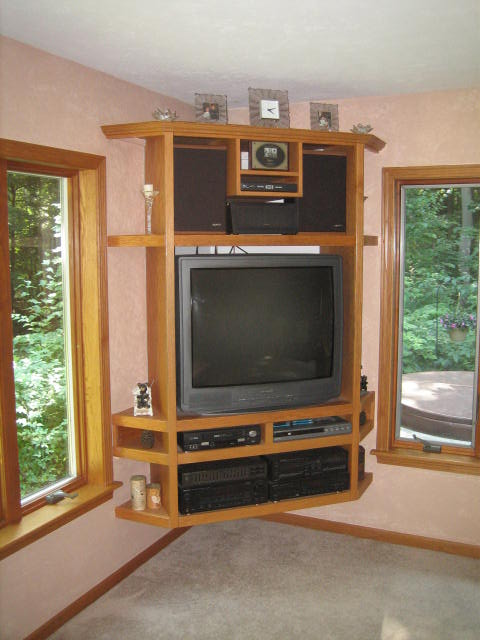 Hanging Entertainment Center