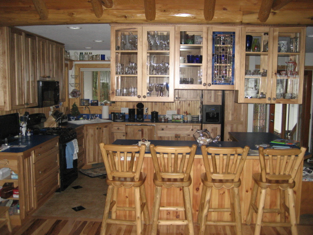 HICKORY KITCHEN THREE YEARL LATER