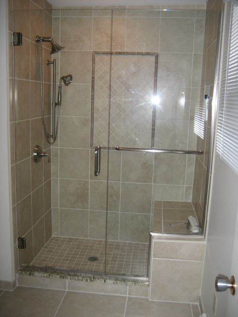 NEW CUSTOM SHOWER
