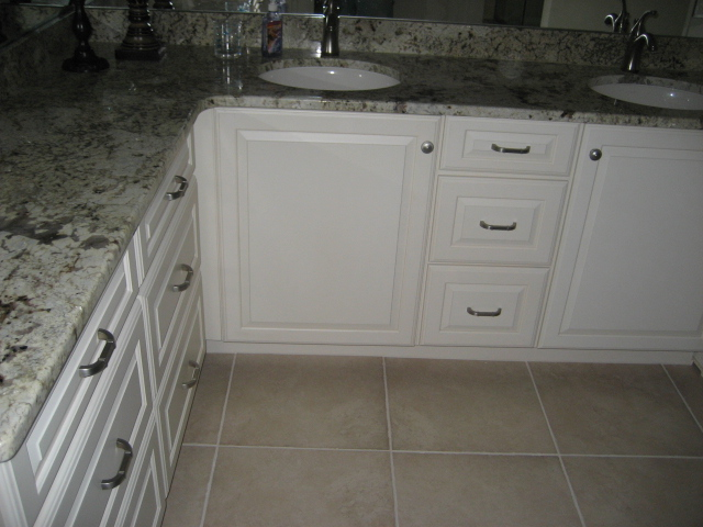 GRANITE, UNDERMOUNT SINKS, AND NEW FAUCETS